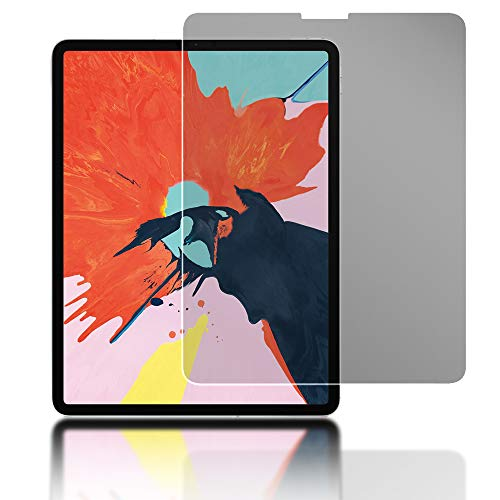 NALIA Privacy Glass Compatible con Apple iPad Pro 12,9' (2018), Protector de Pantalla Completa Privacidad Anti-Espia 9H Cristal Templado, Película Protectora Film LCD Screen-Protector Tempered Glass