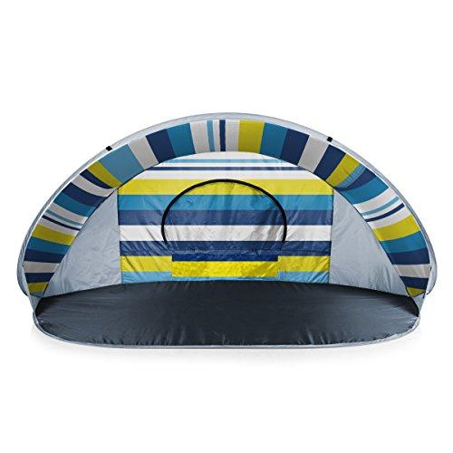 ONIVA - a Picnic Time Brand Manta Portable Pop-Up Sun/Wind Shelter, Beach Stripes