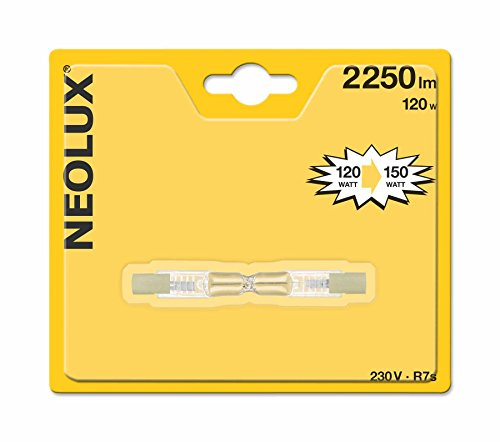 Neolux 4052899178908 Ampoule Halogène Crayon Verre 120 W R7s Transparent