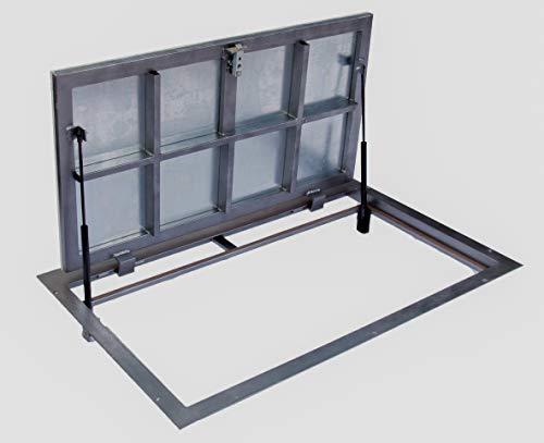 Trampilla de suelo 600 mm x 1000 mm P Tapa de Registro Panel de acceso Puerta de Inspección Tapa de Escotilla