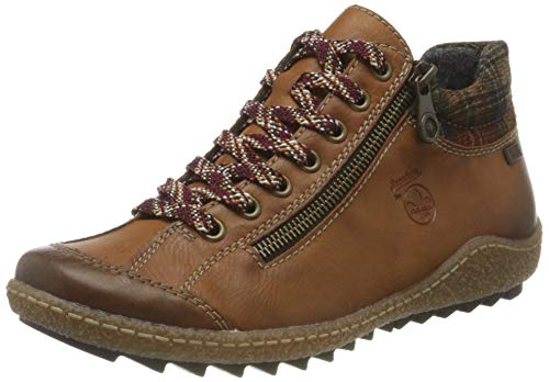 Rieker Damen L7516 Mode-Stiefel, braun, 40 EU
