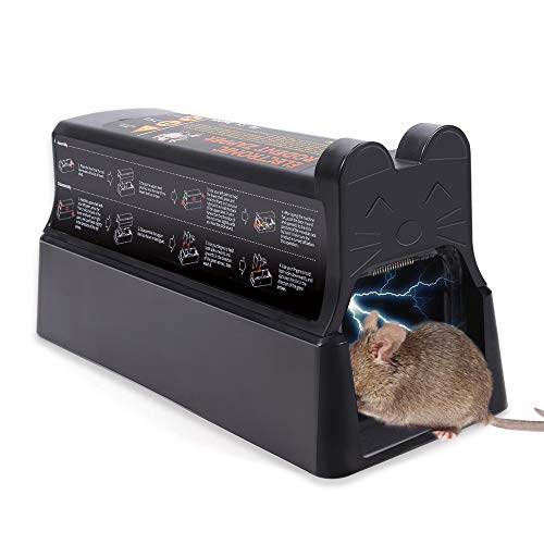 Upwinning Electric Rat Trap (2020 New Version), Electronic...