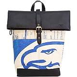 シルクレイン Elephbo バックパック リサイクルセメントバッグ Rolltop Backpack Blue Eagle 41×17×40cm