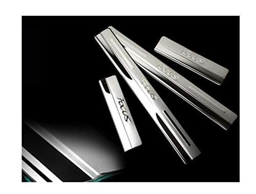 Protector Paragolpes Coche 4pcs / lot Steel de acero inoxidable Etiquetas engomadas...