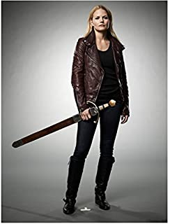 Once Upon a Time Jennifer Morrison as Emma Swan The Savior Standing with Sword Promo 8 x 10 Photo