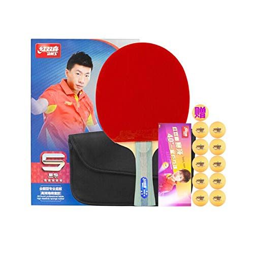 Fantastic Deal! HUIJUNWENTI Table Tennis Racket, DHS Table Tennis Racket, 4 Stars/5 Stars / 6 Stars ...