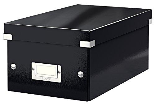 Leitz Click & Store DVD Aufbewahrungsbox, schwarz, 60420095