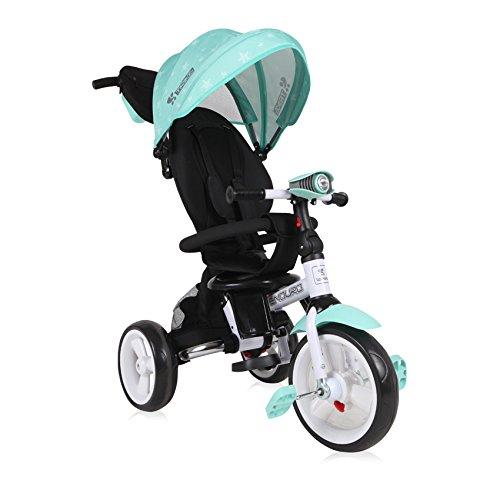 Lorelli 10050410010 driewieler schaalbaar voor baby/kinderen Enduro groen