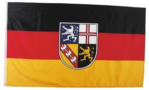 MFH Fahne 90x150 cm Deutsche Bundesländer (Saarland)