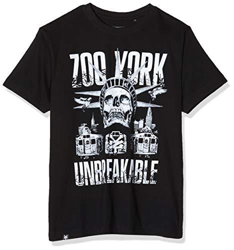 Zoo York Cortland T-Shirt, Nero, L Uomo