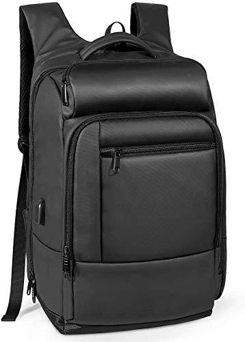 NATURALIFE Handgepäck Rucksack,Loptop Rucksack mit Sicherheitstasche 18 Zoll Isolierter Tasche Wasserfest USB Anschluss für Dienstreise Urlaub Außenaktivitäten