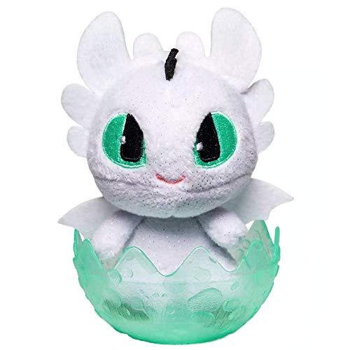 Baby Nightlight White Dragons Legends Evolved Plush Figure 3' Factory Sealed