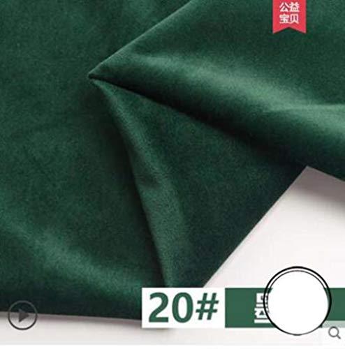 155 * 50 cm goud zijde fluweel stof flanel korte pluche doek naaien DIY voor gordijn kussen bank tafelkleed D20 100x155cm fyl020