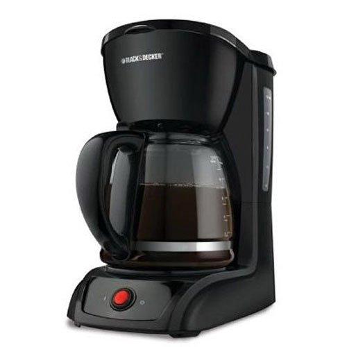 Black & Decker CM1200B 12-Cup Switch Coffeemaker, Black