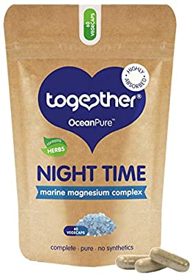 Together Health OceanPure Night Time Magnesium Complex Capsules, 60-Count