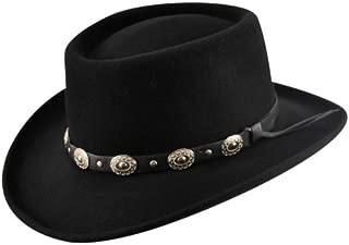 Eddy Bros. Gambler Hat Black