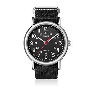 Timex Reloj de Cuarzo Unisex Weekender Slip-Through 38 mm