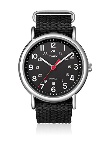 Timex Reloj de Cuarzo Unisex Weekender Slip-Through 38 mm