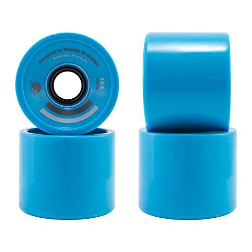 Bustin Wheels (Set 4). Ruedas Premier Blue 70x54 78a