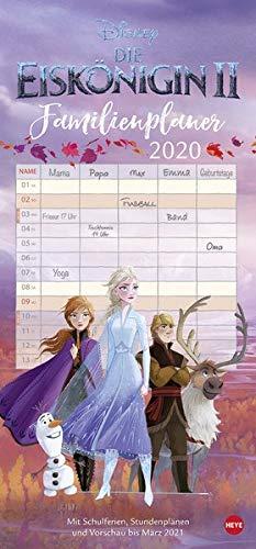 Die Eiskönigin 2 Familienplaner Kalender 2021