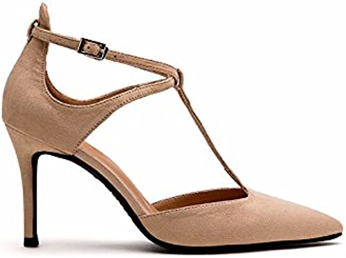 FLYRCX Chers hauts talons talon fine personnalité sexy bouche peu profonde parcravate sandales chaussures de travail chaussures
