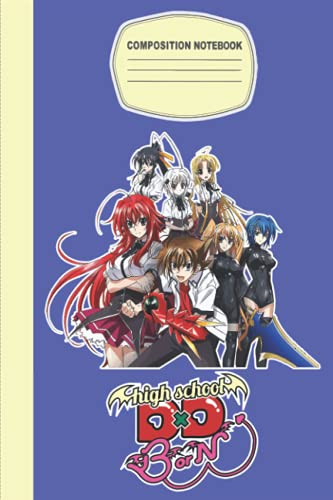 Highschool DxD Notebook Merch: Highschool DxD Art   Highschool DxD Fanart   Composition Notebook   Diary   Notepad book   Planner Book Gamers   ... Gifts in Work Office, Home, School...