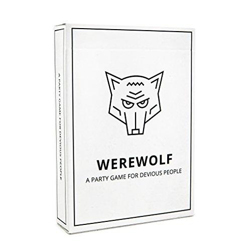 Timber & Bolt Werewolf de un Juego de Fiesta para Gente astuta