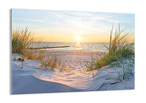 Bild auf Glas - Glasbilder - Einteilig - Breite: 100cm, Höhe: 70cm - Bildnummer 3989 - zum Aufhängen bereit - Bilder - Kunstdruck - GAA100x70-3989