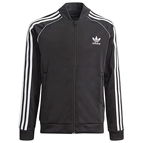 adidas Originals Unisex-niño Adicolor Superstar Track Jacket, Negro / Blanco, Medium