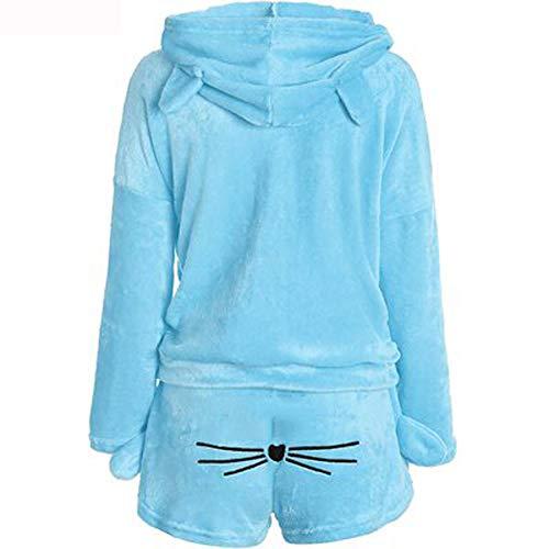 Winter-Einteiler, Schlafanzug, Nachtwäsche, Flanell, weich, Einteiler, Pyjama,...