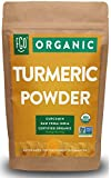 Organic Turmeric Root Powder w/ Curcumin | Lab Tested for Purity | 100% Raw from India | 16oz/453g (1lb) Resealable Kraft Bag | by FGO