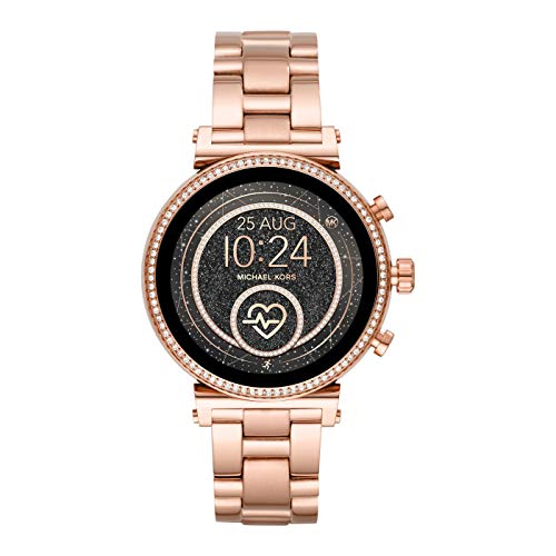 Michael Kors Damen Analog Quarz Uhr Smartwatch MKT5063