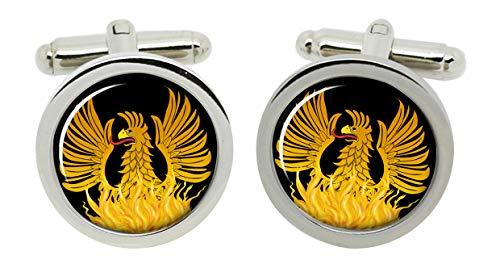 Gift Shop Phoenix Manschettenknöpfe in Chrom Kiste