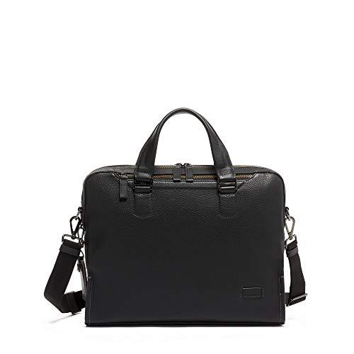 TUMI - Harrison Bradford Brief - Black Pebbled Leather