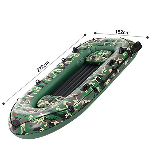FACAI Kayak Hinchable 2 Plazas Kayak Rigido Kayak Doble Rigido Kayak Desmontable Kayak Rigido 2 Personas,Multi-colored-272 * 152 * 36