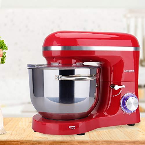 Arebos Küchenmaschine rot - 5