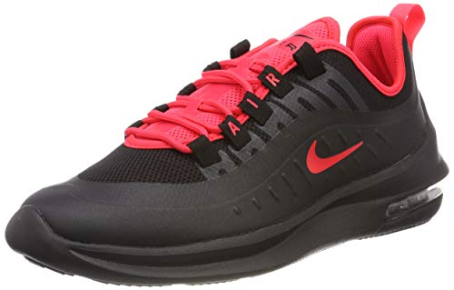 Nike Herren AIR MAX AXIS Laufschuhe, Schwarz (Black/Red Orbit 008), 44.5 EU