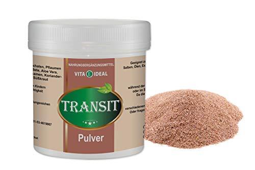 VITA IDEAL ® Transit Colon Cleanse PULVER 300g mit Flohsamenschalen, Rote Bete, Pflaumensaft sprühgetrocknet, Süsskraut, Kümmel, Koriander