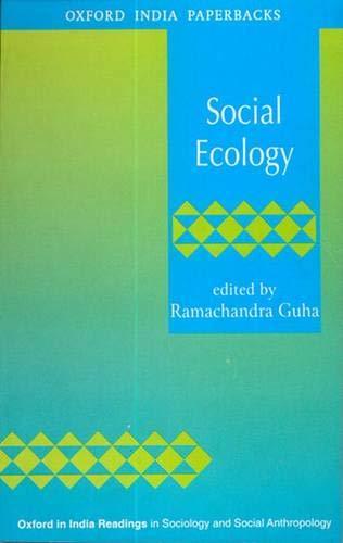 Social Ecology (Sociology and Social Anthropolog)