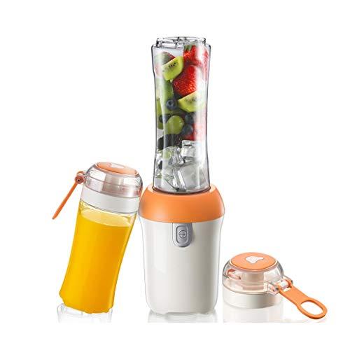 Mélangeur de légumes et de fruits multifonctions mini multifonctions portable de 400 ml + 600 ml