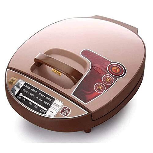 Bdesign Elektrisch Skillet Baking Pan, Digitalanzeige, Antihaft-Backform, 1500W Startseite Doppelseitige Heizung Multifunktions-Pizza Machine