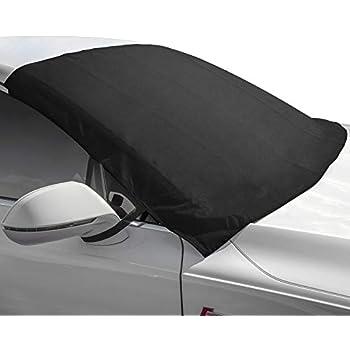 Ballistic Coverking Custom Windshield Snow Cover//Frost Shield for Select Honda Fit Models Black