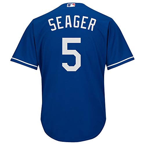 Corey Seager Los Angeles Dodgers #5 Blue Infants Toddler Cool Base Alternate Replica Jersey (24 Months)