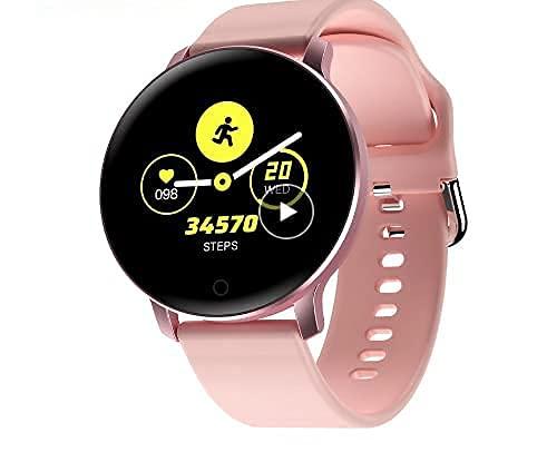 X9 Smartwatch Para Hombre Mujeres IP67 Podómetro Deportivo Tracker Bluetooth Reloj Inteligente para Ios Android Samsung Huawei Phone PK R500 DT88 (Gris)