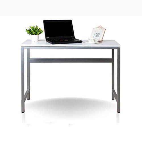 LJHA Klapptisch Laptop Tisch Klapp Schreibtisch Schreibtisch Schreibtisch Esstisch Ahorn Farbe Weiß 100 * 40 * 72 cm Tabelle (Farbe : Weiß)
