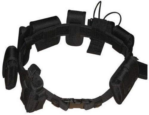 eoocvt Tactical Belt Outdoor Multifunction Tactical Belt Security Police Guard Utility Kit