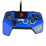 New Improved D-Pad - Mad Catz Street Fighter V FightPad PRO for PlayStation4 and PlayStation3 - Blue - PlayStation 4