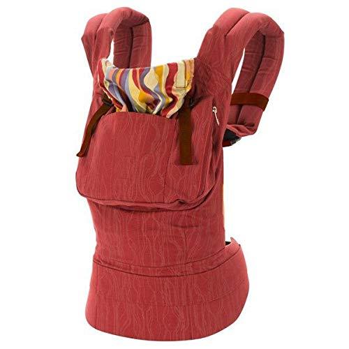 Bosi General Merchandise Diseño ergonómico de Correa de Canguro, con portabebés en la Parte Delantera, Asiento para bebé, Cintura, Mochila de Viaje para bebé 036M
