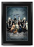 HWC Trading Downton Abbey Cast Gifts gedrucktes Autogramm