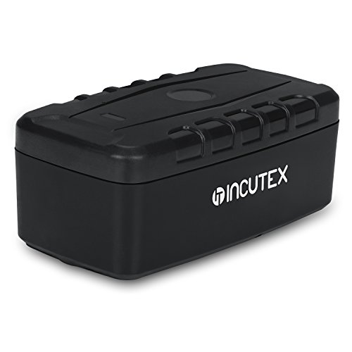 Incutex GPS Tracker TK106 Langzeittracker wasserdicht Magnethalterung Containertracker Version 2019